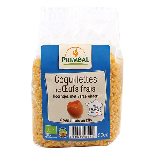Priméal - Coquillettes aux oeufs frais France 5kg