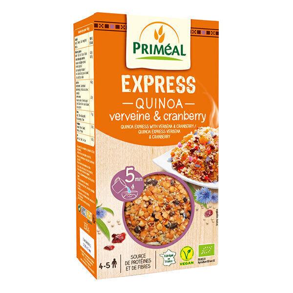 Priméal - Quinoa express céréales et cranberries 250g