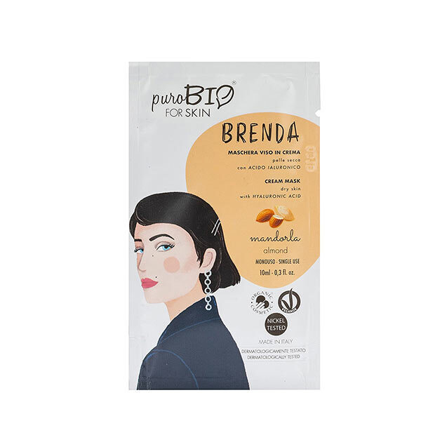 PuroBIO Cosmetics - Masque peaux sèches Amande 10ml