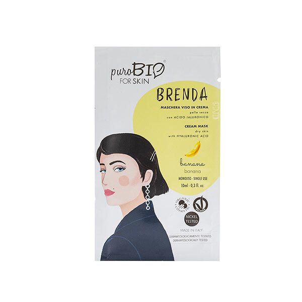 PuroBIO Cosmetics - Masque peaux sèches Banane 10ml