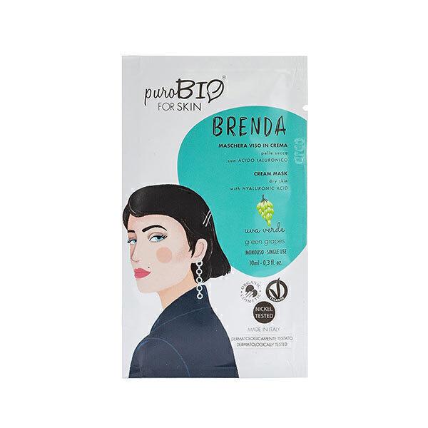 PuroBIO Cosmetics - Masque peaux sèches Raisin 10ml