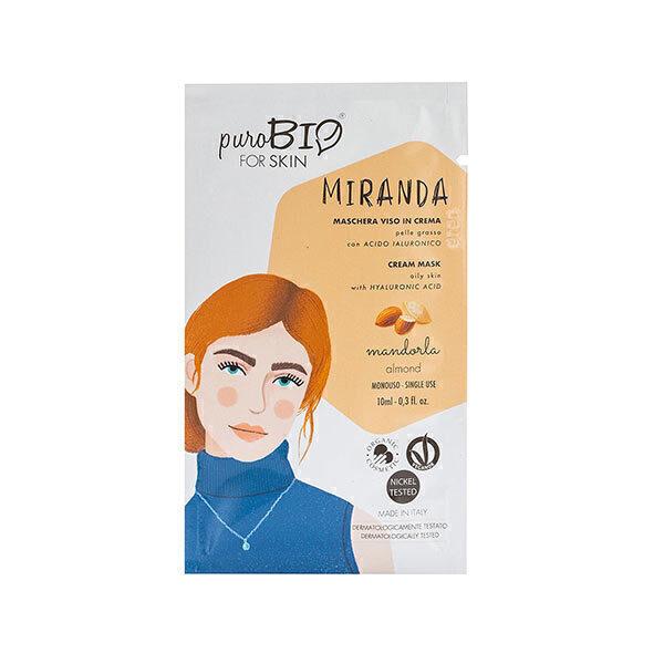 PuroBIO Cosmetics - Masque peaux grasses Amande 10ml