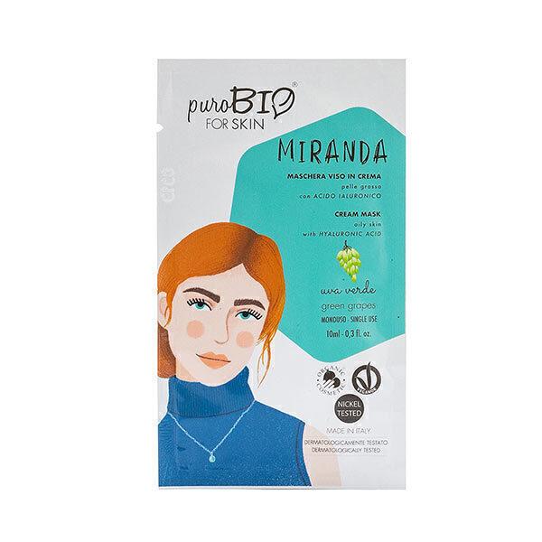 PuroBIO Cosmetics - Masque peaux grasses Raisin 10ml