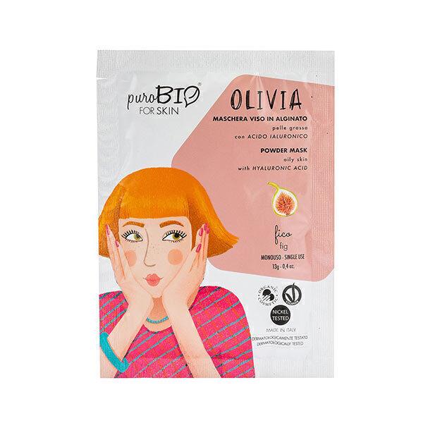 PuroBIO Cosmetics - Masque poudre peaux grasses Figue 13g