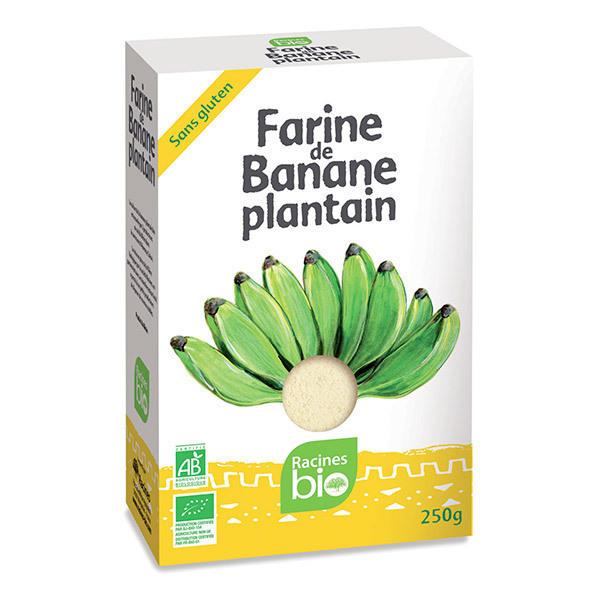 Racine Bio - Farine de Banane plantain 250g