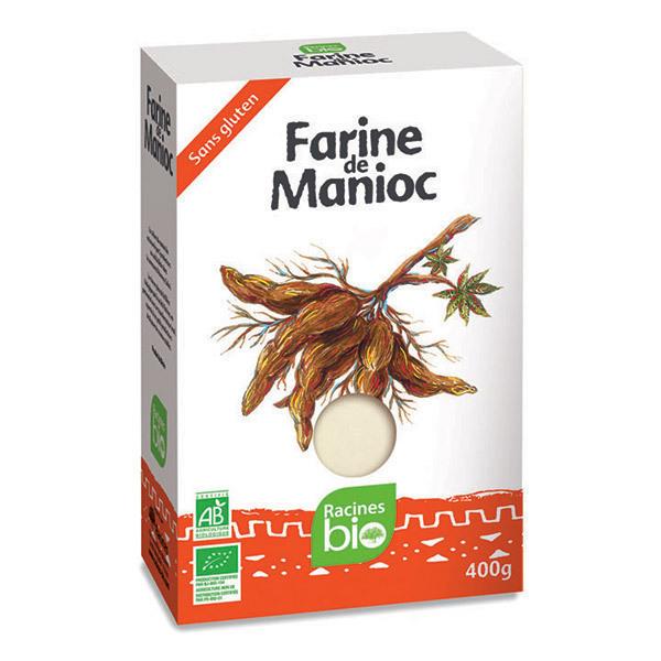 Racine Bio - Farine de Manioc bio 400g