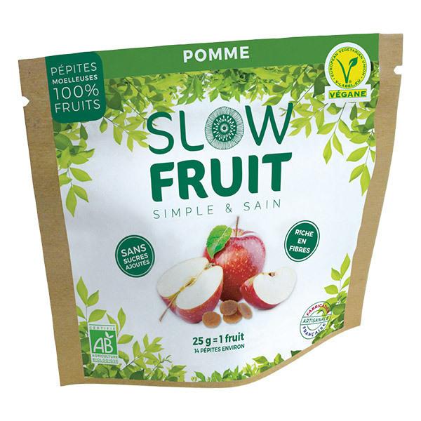 Slowfruit - Encas pépites de fruits Pomme 25g