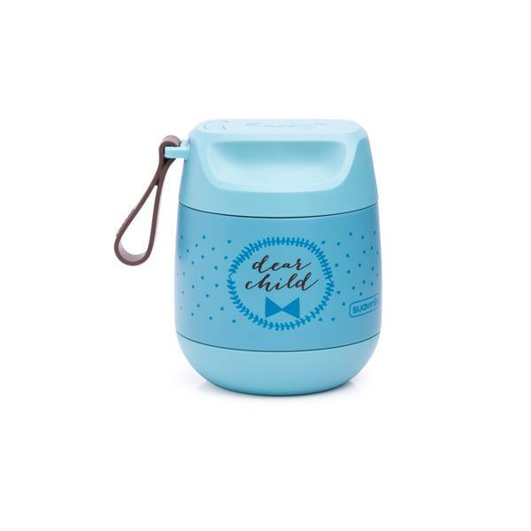 Suavinex - Pot isotherme Ours Bleu 350ml