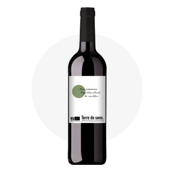 Terre de Sens - Vin rouge IGP Pays d'Oc 75cl