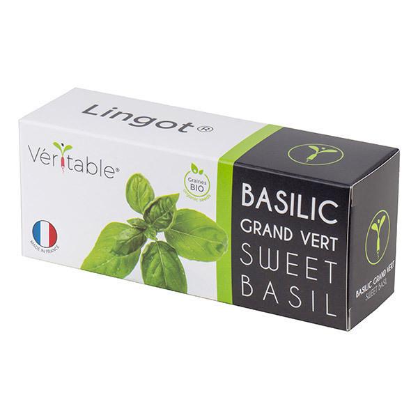 Véritable - Lingot Basilic Grand Vert Bio