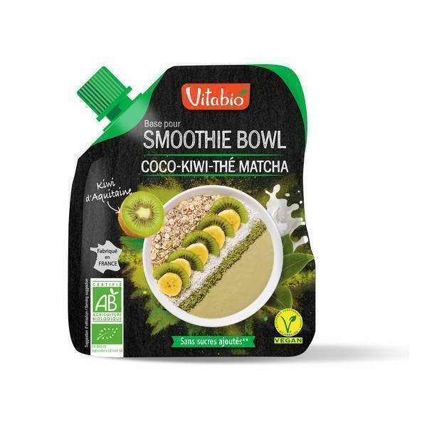 Vitabio - Base pour smoothie bowl - Coco, kiwi et thé matcha 350g