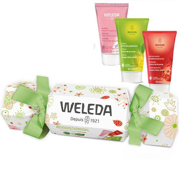 Weleda - Coffret Noël crèmes de douche