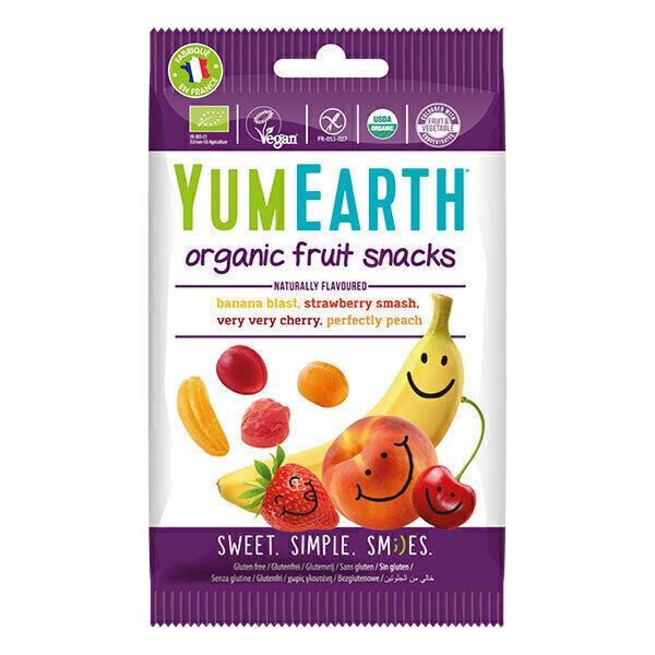 YumEarth - Bonbons Fruit Snacks 50g