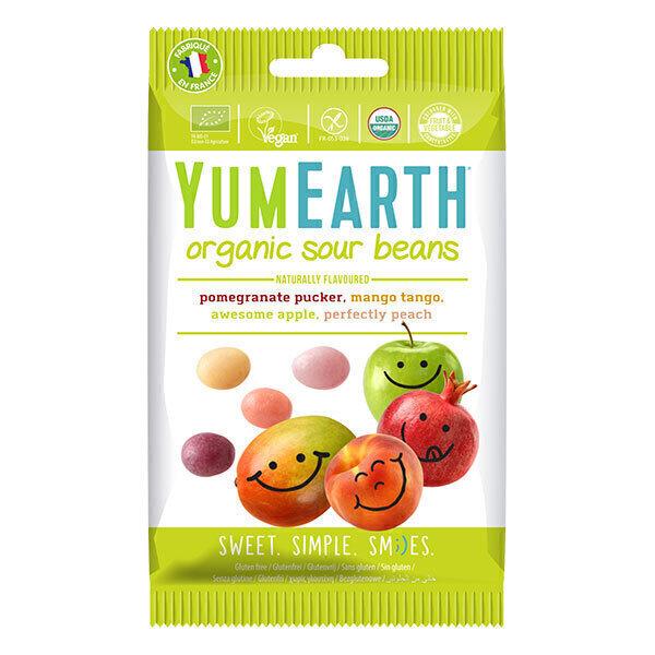YumEarth - Bonbons gélifiés Beans acidulés 50g