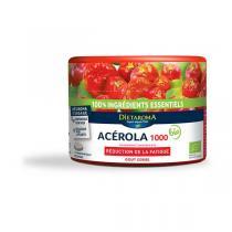 Dietaroma - Acérola 1000 goût cerise pilulier - 60 comprimés