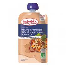 Babybio - Gourde tomate champignons haricots boulghour dès 12 mois - 180g