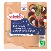 Babybio - Sachet de betterave tomate chèvre boulghour dès 12 mois - 190g