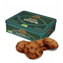 Belledonne - Boite métal Cookie tout chocolat 300g