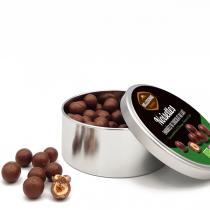 Belledonne - Boite métal Noisettes au chocolat au lait 180g