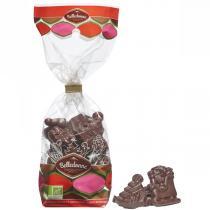 Belledonne - Fritures de Noël au chocolat noir 57% 120g