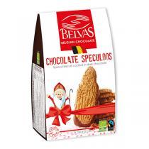Belvas - Spéculoos nappés de chocolat 120g
