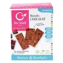 Bio Soleil - Biscuits nature & bienfaits au Chocolat 130g