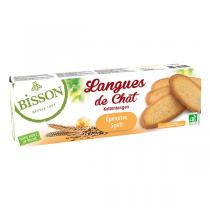 Bisson - Langues de chat épeautre 100g