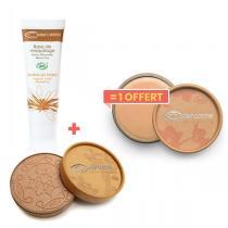 Couleur Caramel - 1Base maquillage + 1poudre beige achetés, 1anti-cernes offert