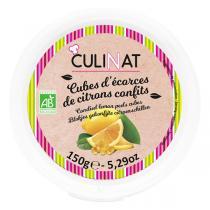 Culinat - Écorces confites Citron Bio 150g
