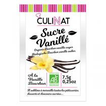 Culinat - Sucre Vanillé naturel Bio 8 X7.5g