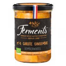 Ferments - Carotte & Gingembre lacto-fermentés 380g