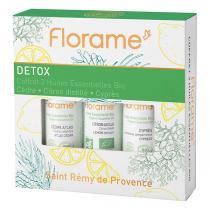 Florame - Coffret huiles essentielles Detox 3X10ml