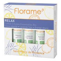 Florame - Coffret huiles essentielles Relax 3X10ml