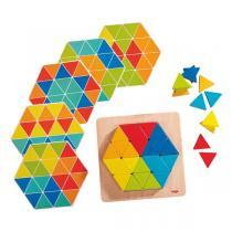 Haba - Jeu d'assemblage Triangles magiques - Dès 2 ans