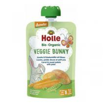 Holle - Gourde Veggie Bunny carotte patate douce 100g