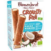 Le pain des fleurs - Biscuits cacao noix de coco - Crousty roll 125g