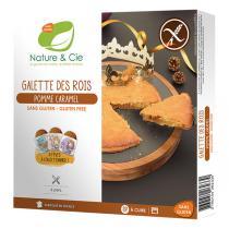Nature & Cie - Galette des rois Pomme Caramel 400g