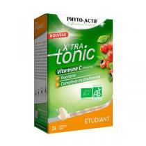 Phyto-Actif - X'tra tonic étudiant - 24 comprimés