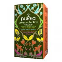 Pukka - Assortiment 5 thés vert Green collection 20 sachets