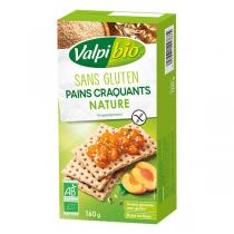 Valpibio - Pains craquants nature sans gluten 160g
