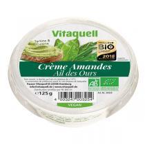 Vitaquell Frais - Crème onctueuse Amandes et Olives 125g