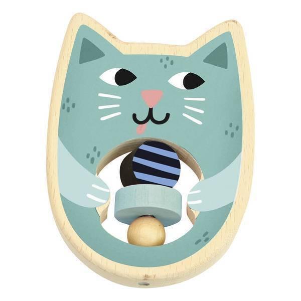 Vilac - Hochet Cat Michelle Carlslund - Dès 1 an