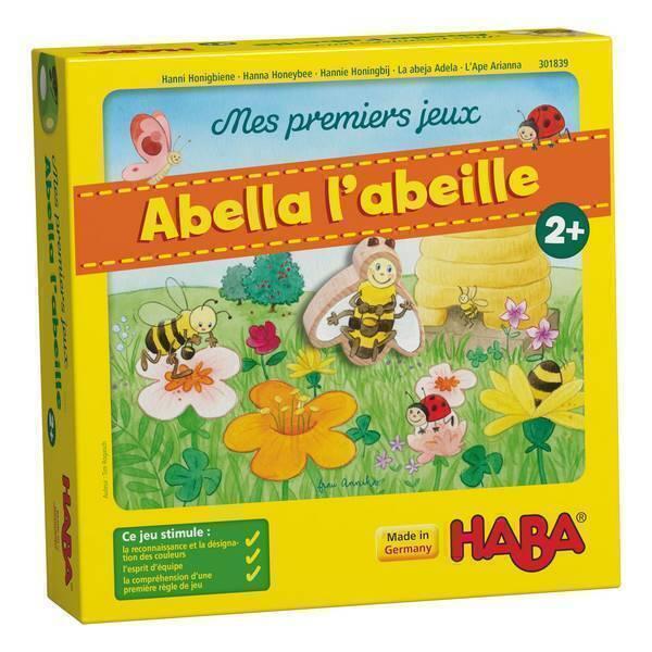 Haba - Mes premiers jeux: Abella l'abeille - Des 2 ans