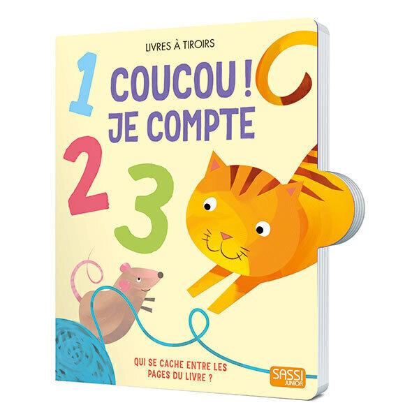 SASSI Junior - Livre Coucou ! Je compte - Des 1 an