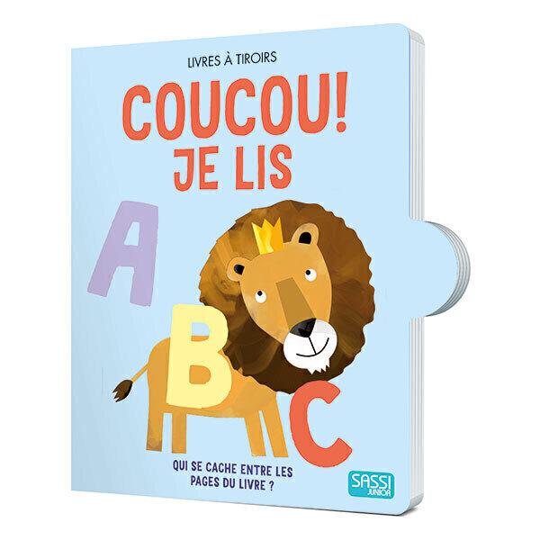 SASSI Junior - Livre Coucou ! Je lis - Des 1 an