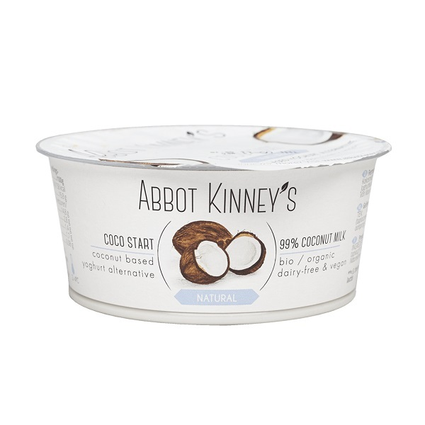 Abbot Kinney's - Dessert végétal Coco nature 125ml