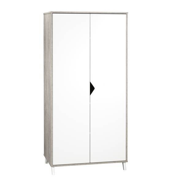 Baby Price - Armoire Scandi Grise