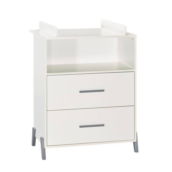 Baby Price - Commode à langer Joy Gris