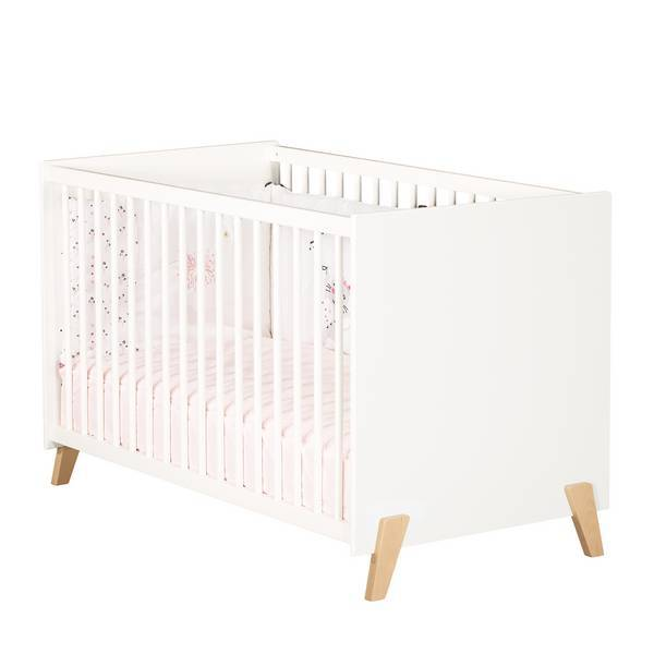 Baby Price - Lit bébé Joy Naturel 120x60cm