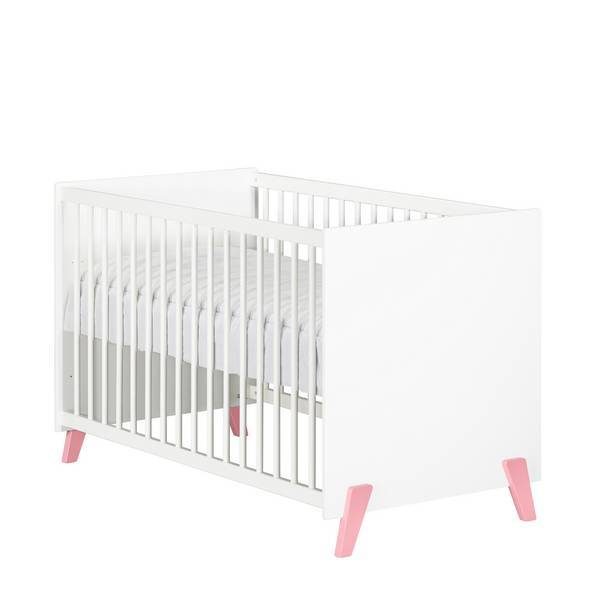 Baby Price - Lit bébé Joy Rose 120x60cm